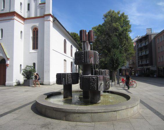 Sorbenbrunnen in der Spremberger Straße